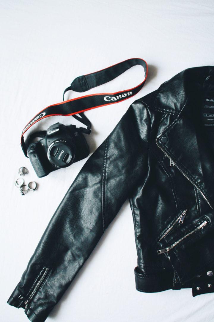Leather jacket- Berskha
